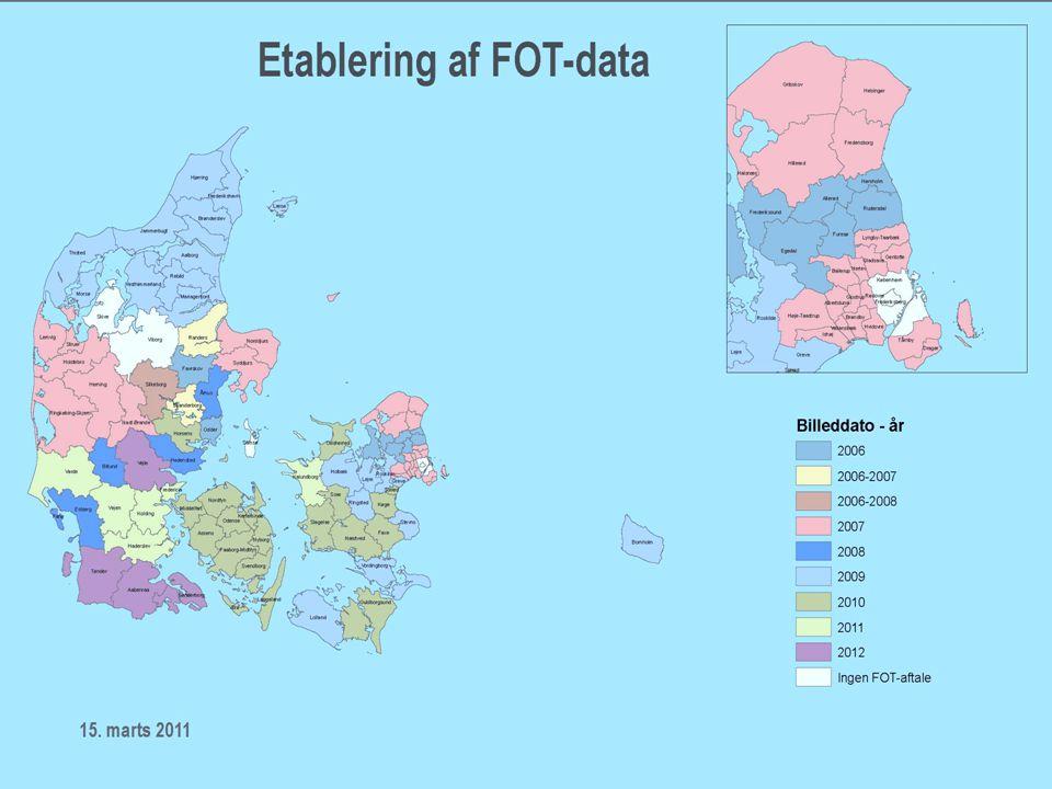 FFC / 7 Hvor langt er vi nået siden 2007? •FOT i databasen