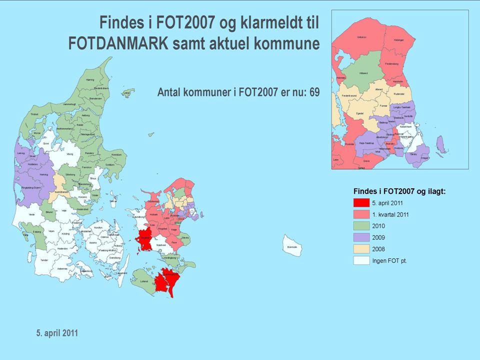 FFC / 7 Hvor langt er vi nået siden 2007 •FOT i databasen