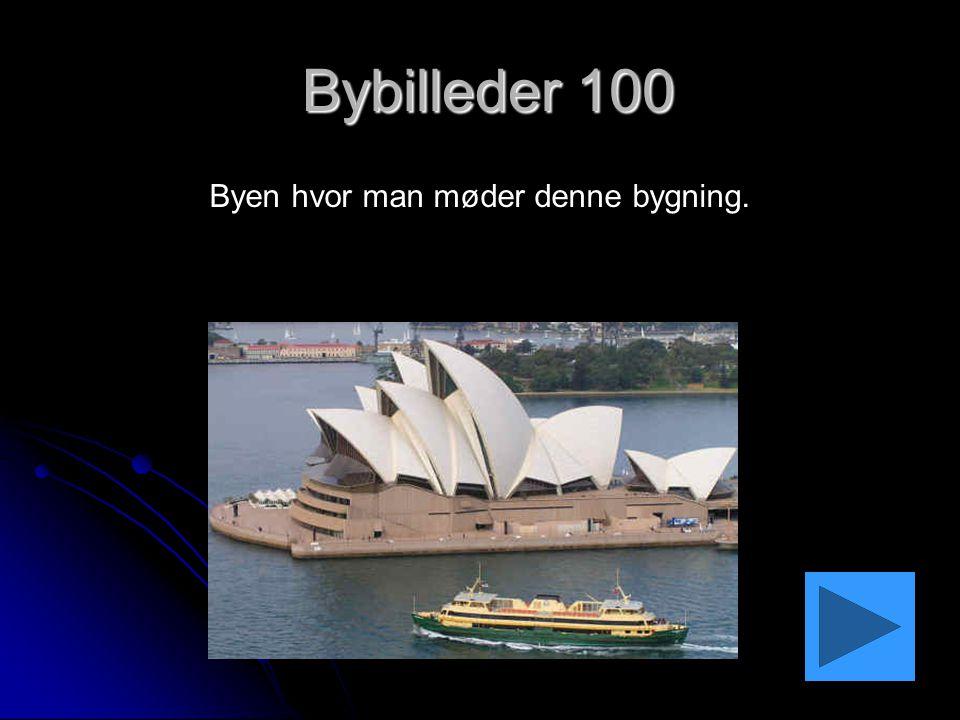 Svar: Bybilleder 100 Hvad er Sydney?