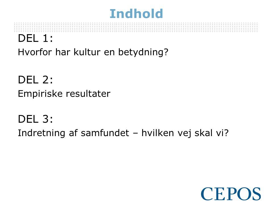Samlet set, hvordan bedømmer du følgende i Danmark sammenlignet med dit oprindelsesland.