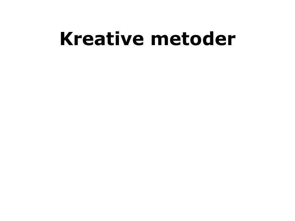 Kreative metoder