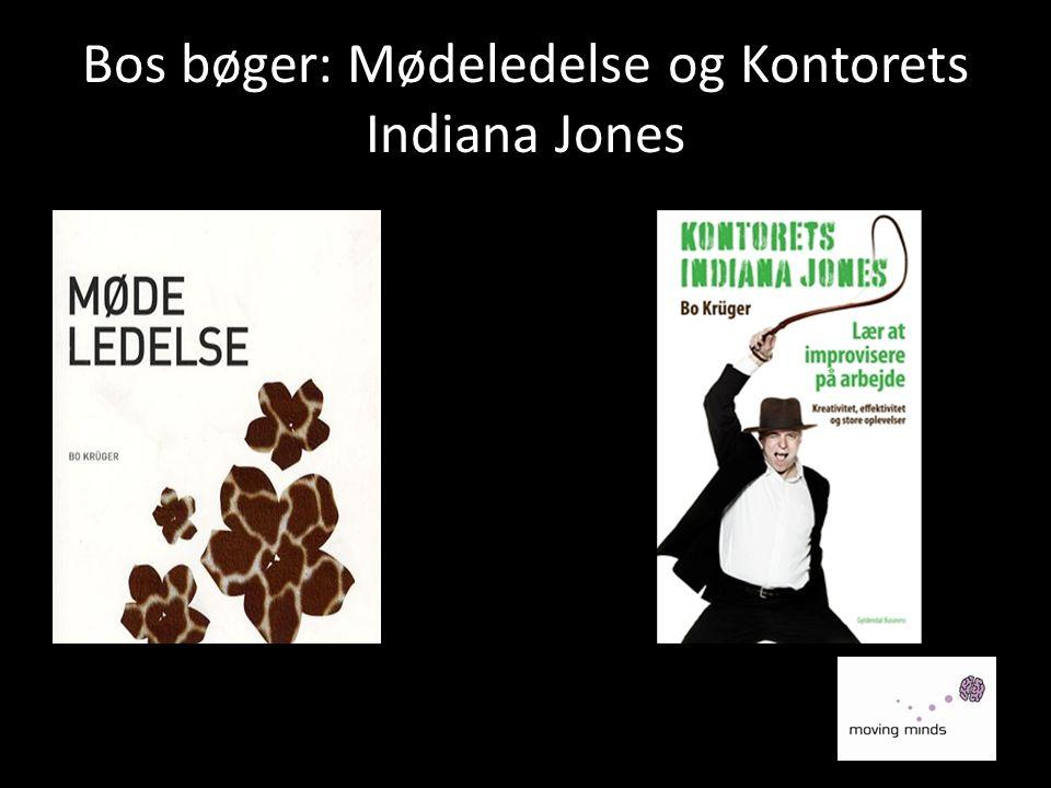 Bos bøger: Mødeledelse og Kontorets Indiana Jones