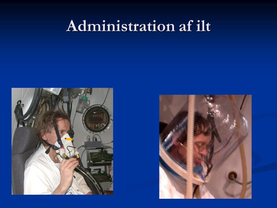 HBO til neurokirurgiske patienter Understøttende infektionsbehandling  Cerebrale abcesser  Inficerede implantater