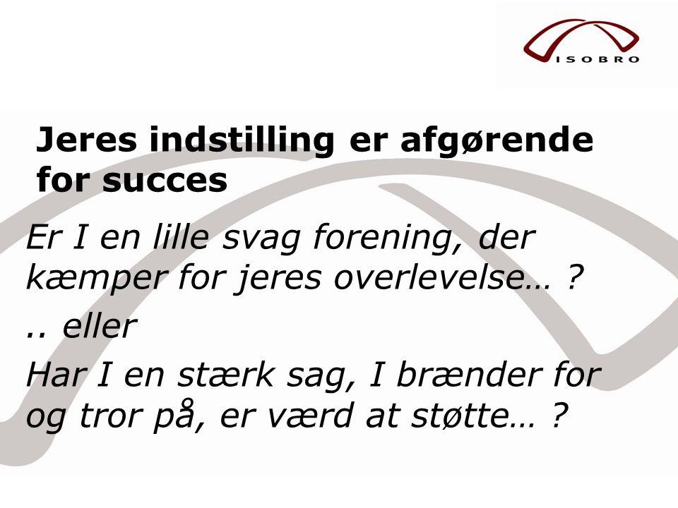 Fundraisingkonferencen i Danmark er et meget positivt tiltag for branchen.