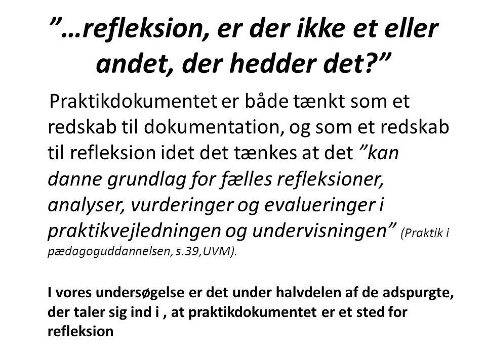 Hvordan forstås refleksion.