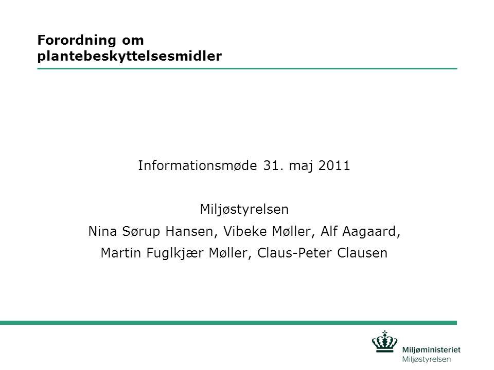Dagsorden informationsmøde 31.