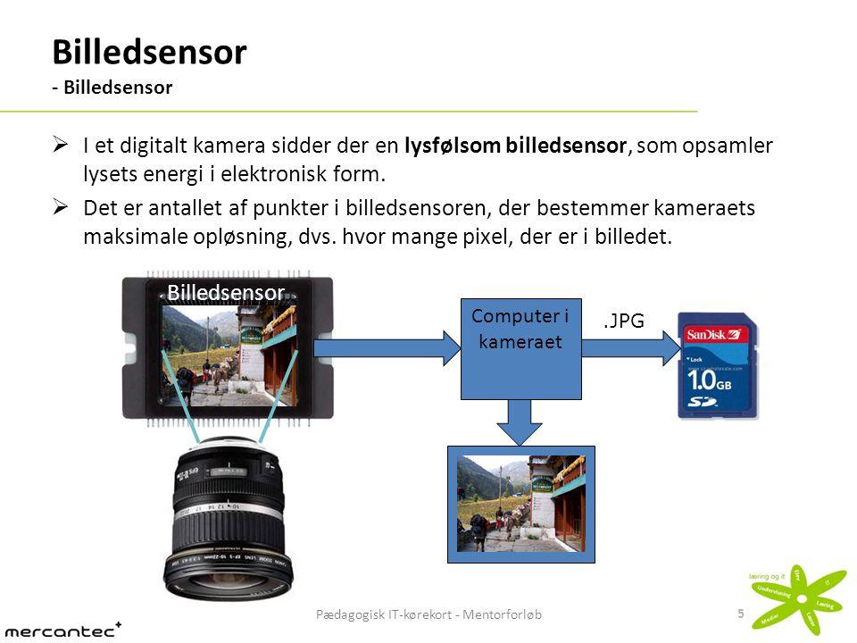 Pædagogisk IT-kørekort - Mentorforløb 16 Links omkring fotografering  http://www.fotoviden.dk/?Fotoviden.dk http://www.fotoviden.dk/?Fotoviden.dk  Digitalkameraet af Michael B.