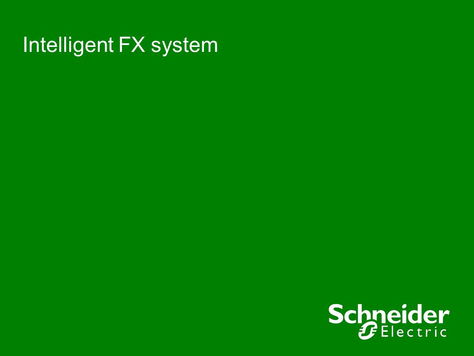 Intelligent FX system