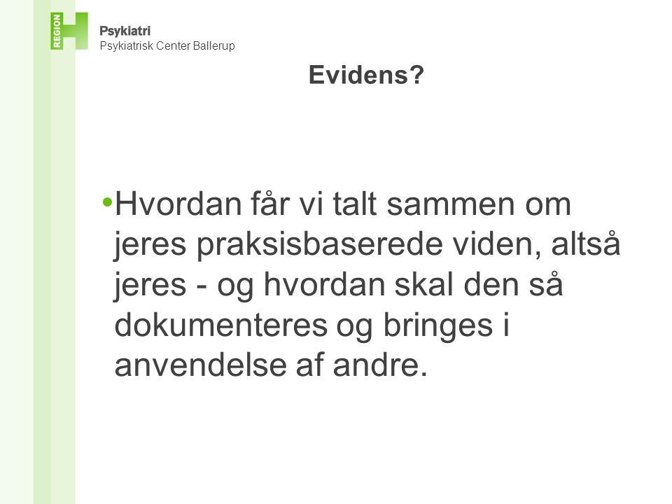 Evidens.