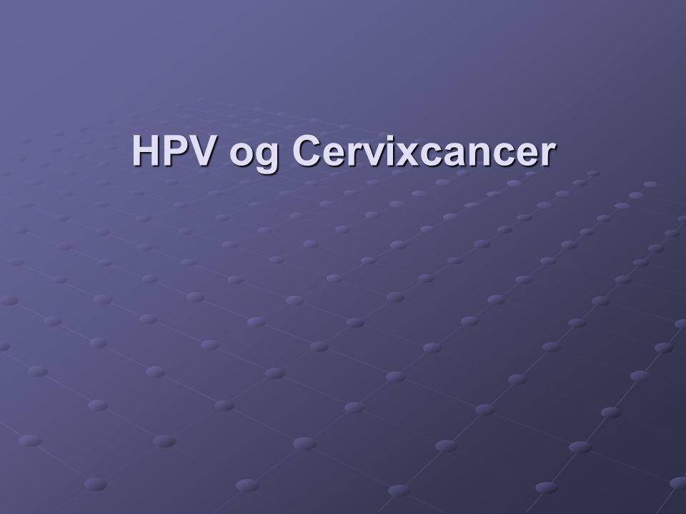 HPV og Cervixcancer