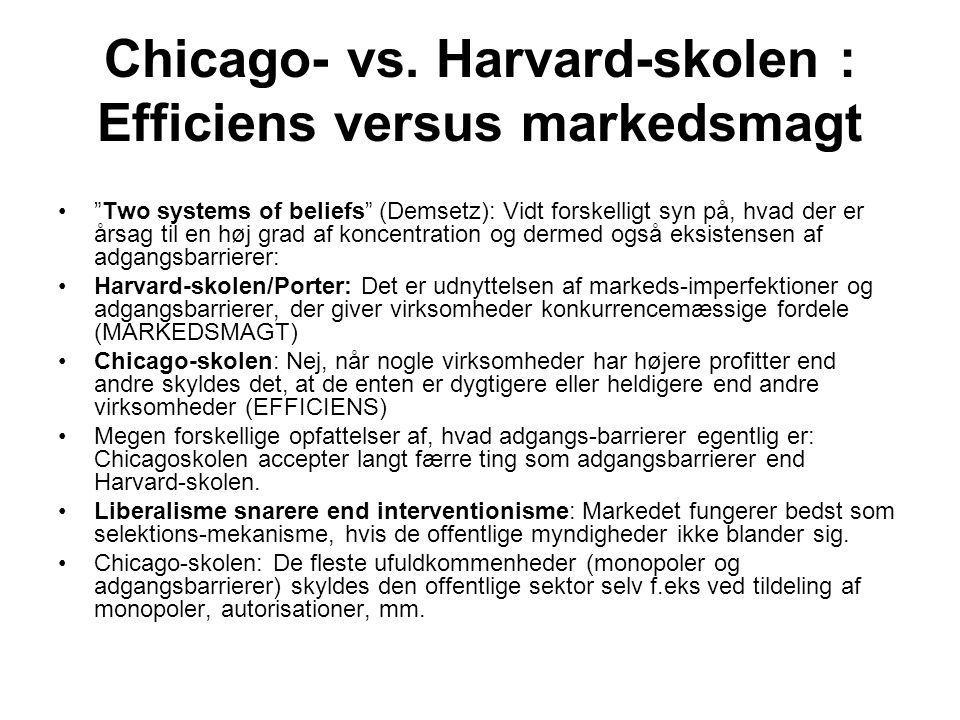 Ressourcebaseret teori •Ressource-baseret teori bygger på et efficiens- snarere end et markedsmagts-perspektiv  •Teorien hævder derfor, at virksomhederne kan have forskellige kundskaber og derfor kan være forskellige.