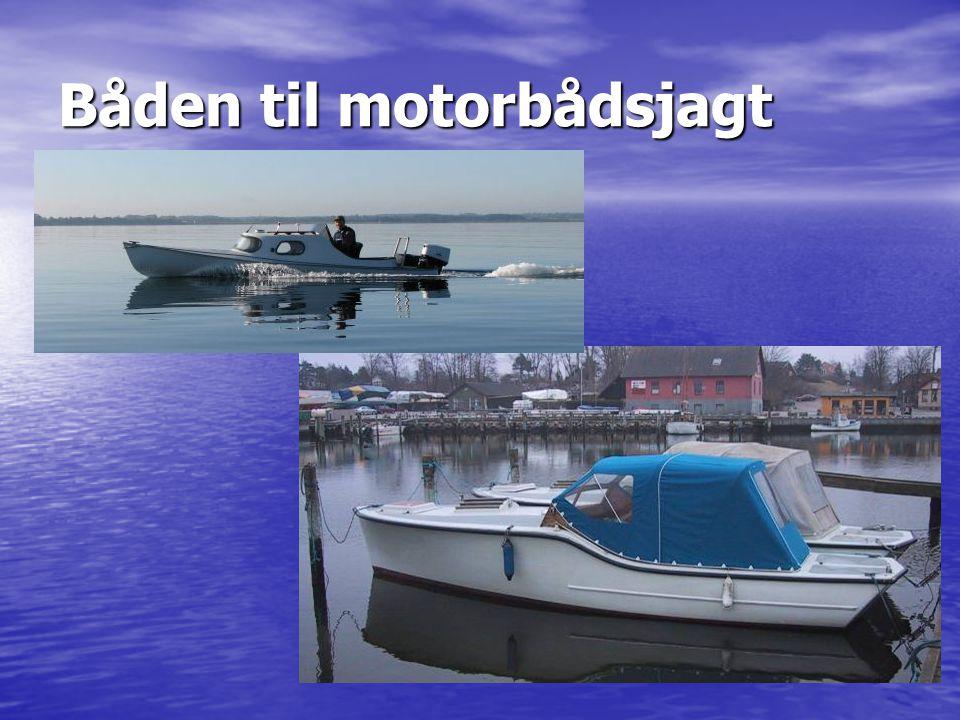 Båden til motorbådsjagt