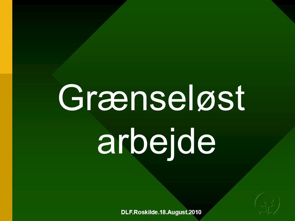 DLF.Roskilde.18.August.2010 Grænseløst arbejde