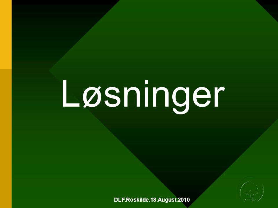 DLF.Roskilde.18.August.2010 Løsninger