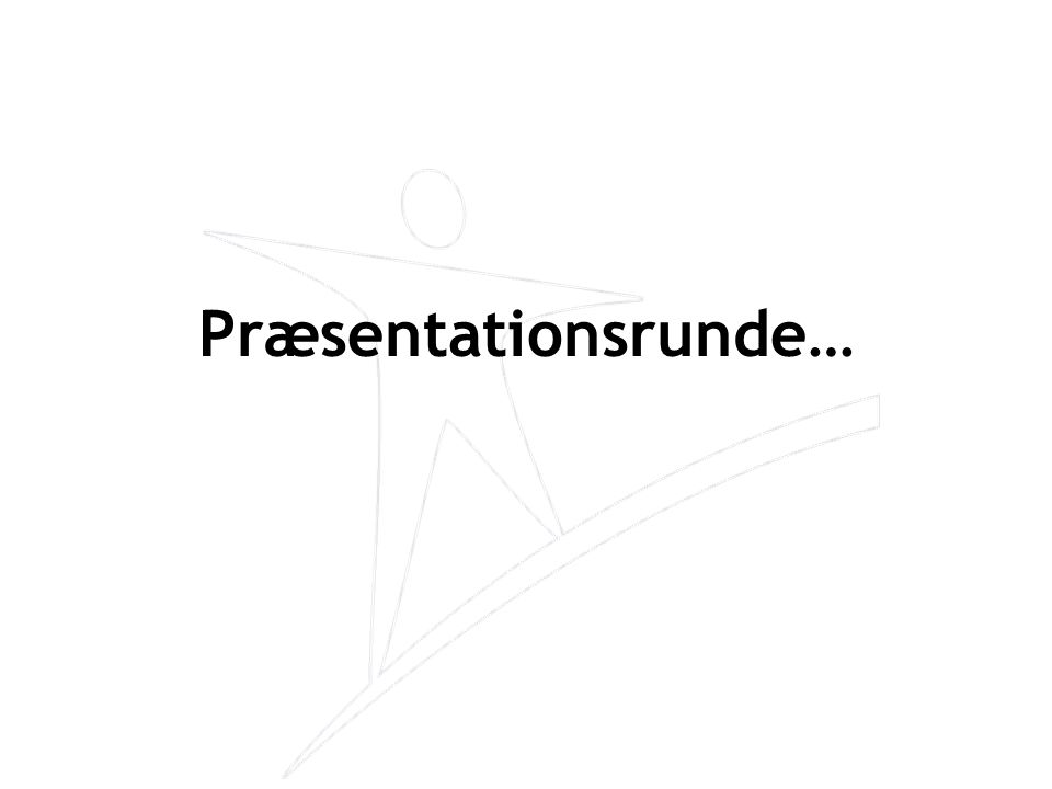 Diskussionsplan •Emne nummer 1: –Præsentation af emnet –Meningsudveksling –Accept fra deltagerne af løsningen –Opsummering af Tovholderen •Emne nummer 2: –Osv.