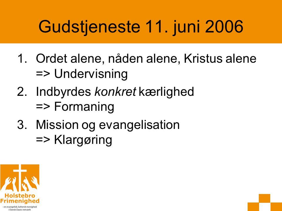 Ordet alene, nåden alene, Kristus alene Ordet alene: -Citat fra reformationen -Nye trends -Vurder det.