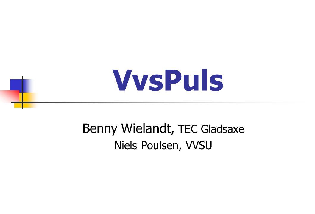 VvsPuls Benny Wielandt, TEC Gladsaxe Niels Poulsen, VVSU