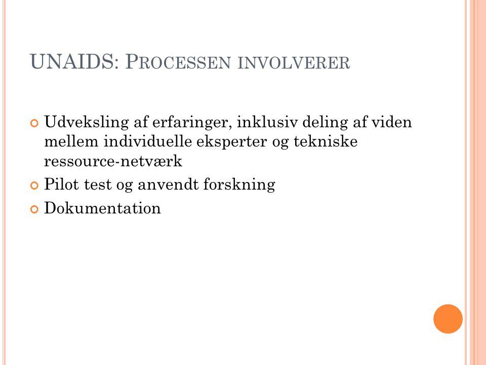 UNAIDS: K RITERIERNE ER ….