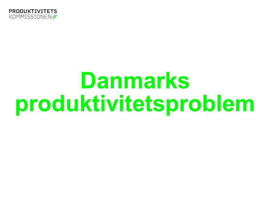Tekstslide med bullets Brug 'Forøge / Formindske indryk' for at skifte mellem de forskellige niveauer Tekstslide med bullets Brug 'Forøge / Formindske indryk' for at skifte mellem de forskellige niveauer Danmarks produktivitetsproblem