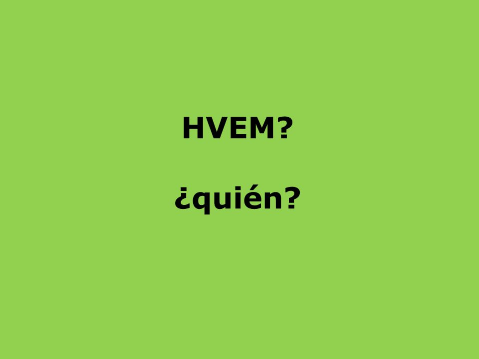 Her er spørgeordene på spansk. Kan du huske, hvad de hver især hedder på DANSK?