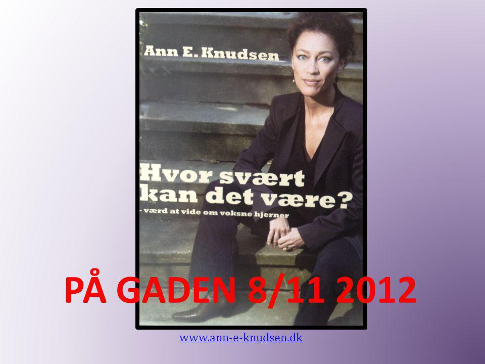 PÅ GADEN 8/11 2012