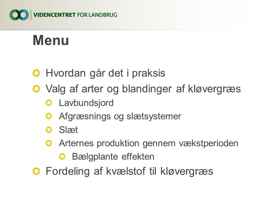 Jylland, midt - nordJylland, syd og øerne 40 50 60 70 80 90 100 Produktions omk.