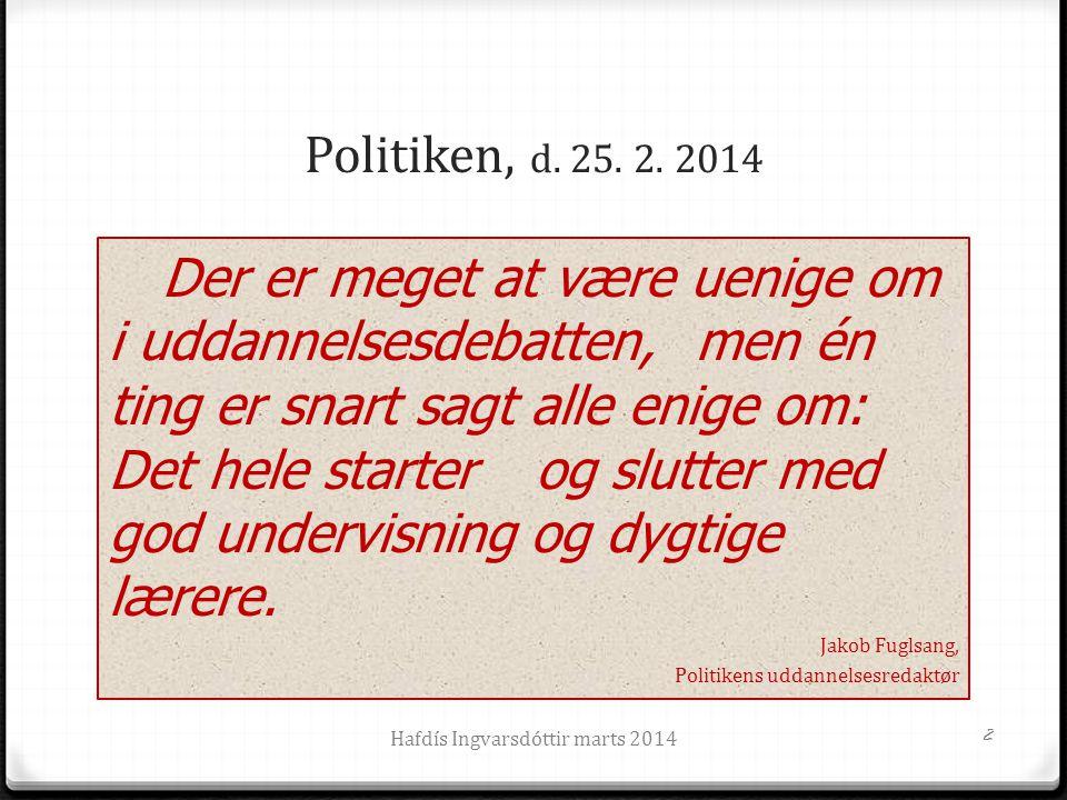 Politiken, d.25. 2.