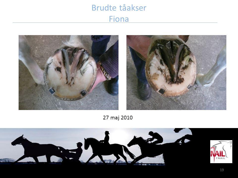 19 Brudte tåakser Fiona 27 maj 2010