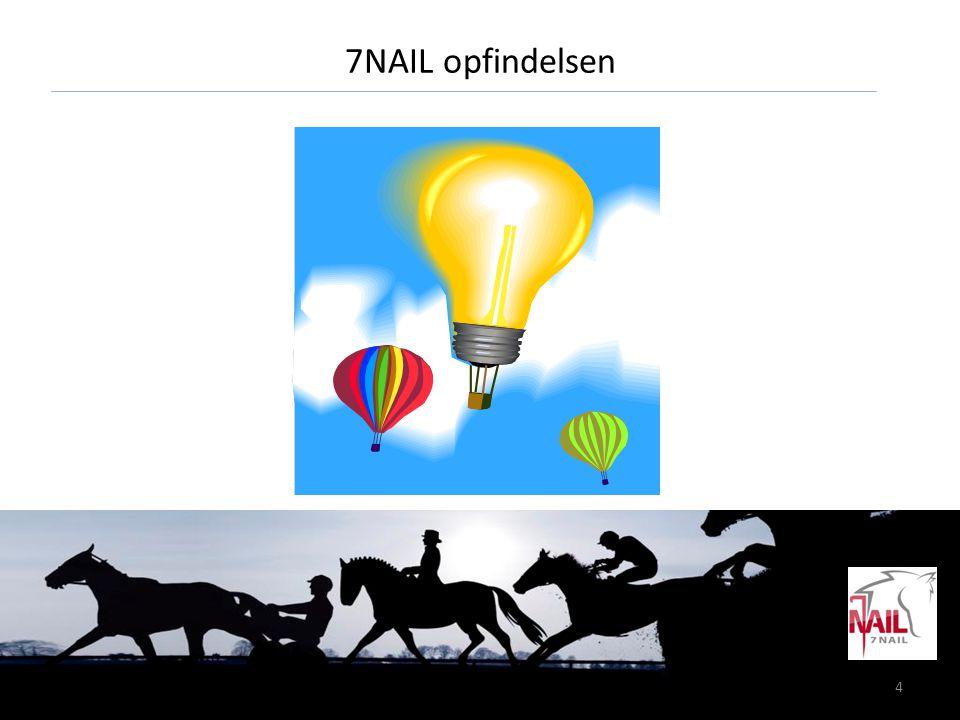 5 7Nail en helt ny løsning • 7Nail reducerer slitagen af hornvæggen – hvor ønsket • 7Nail bibeholder det naturlige hovspil