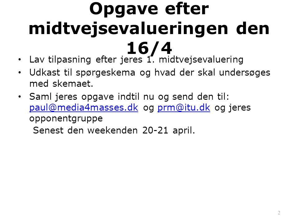 Metodefejl • http://ekstrabladet.dk/nationen/artic le1410368.ece http://ekstrabladet.dk/nationen/artic le1410368.ece En lektor går amok… • http://metelmann.wordpress.com/20 10/09/16/nar-journalister-skriver-til- overskriften/ 43