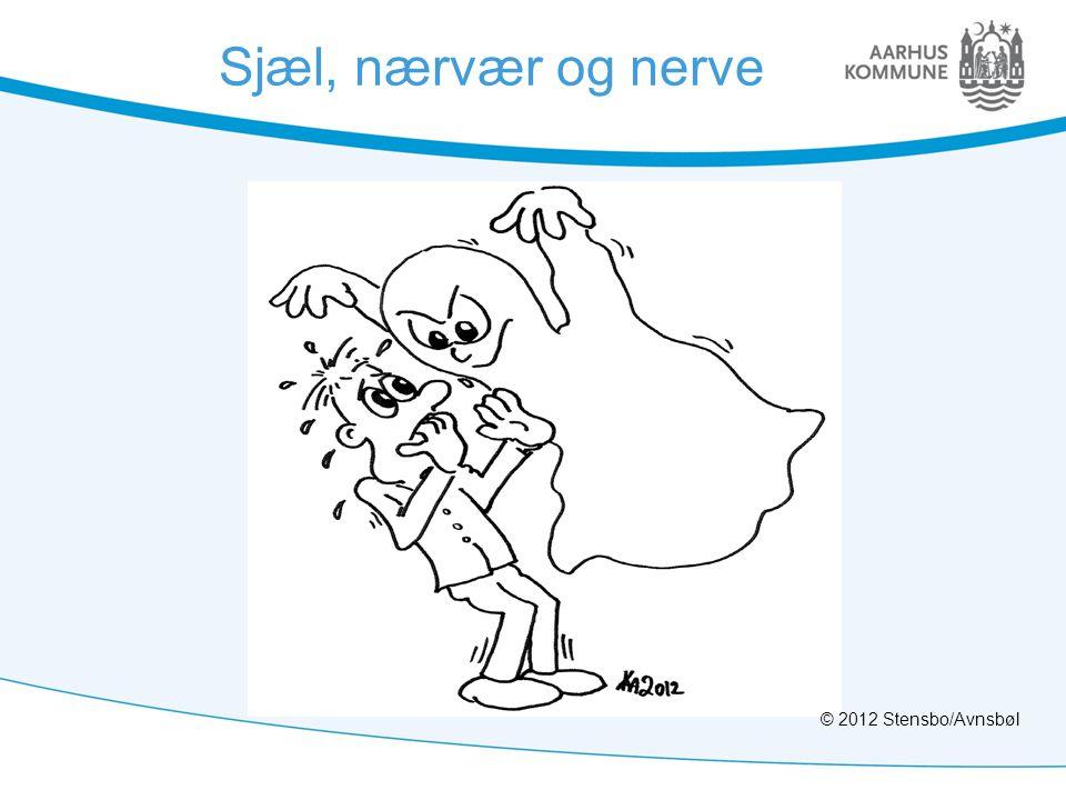 Sjæl, nærvær og nerve © 2012 Stensbo/Avnsbøl