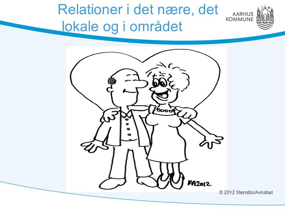 Relationer i det nære, det lokale og i området © 2012 Stensbo/Avnsbøl