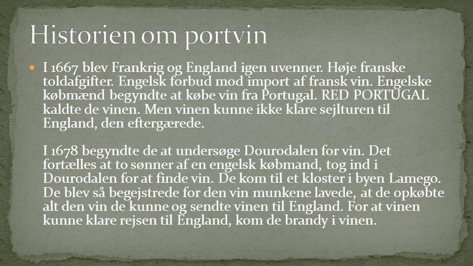  I 1667 blev Frankrig og England igen uvenner.Høje franske toldafgifter.