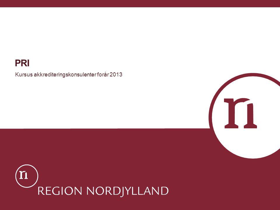 PRI Kursus akkrediteringskonsulenter forår 2013