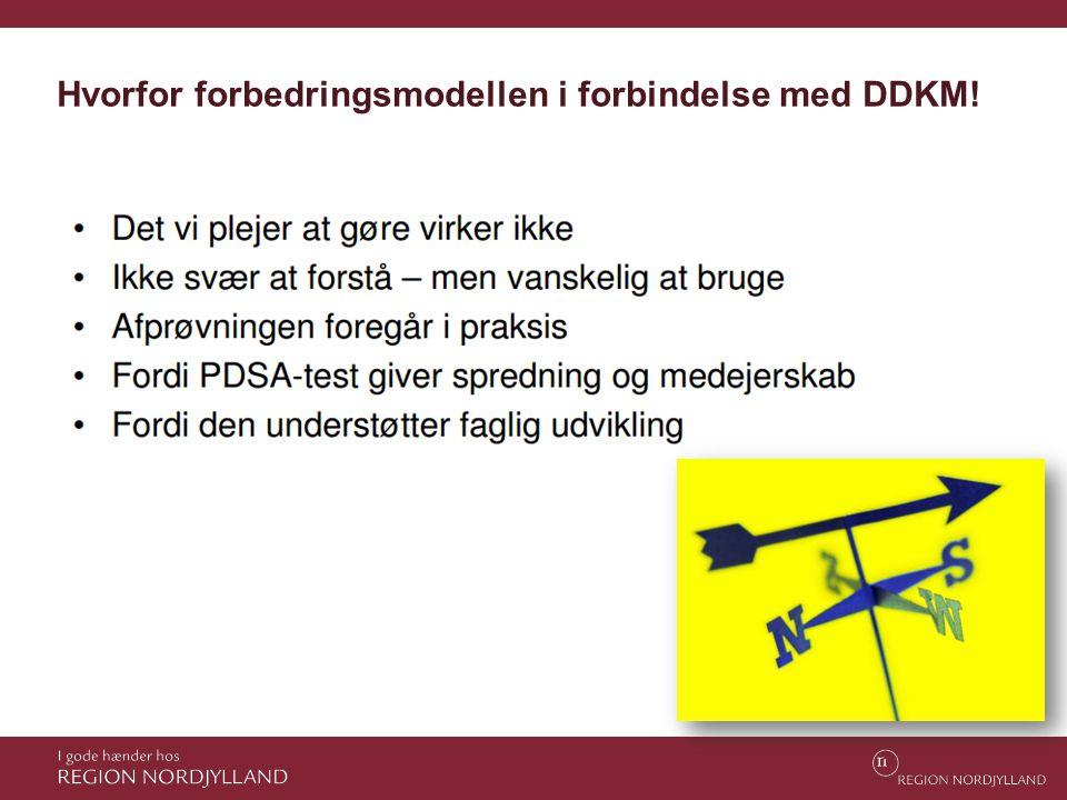 Hvorfor forbedringsmodellen i forbindelse med DDKM!