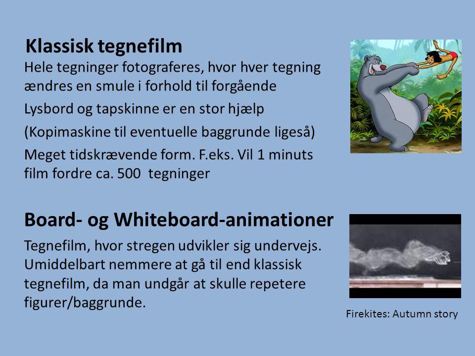 Lyd En animationsfilm uden lyd er kedelig.