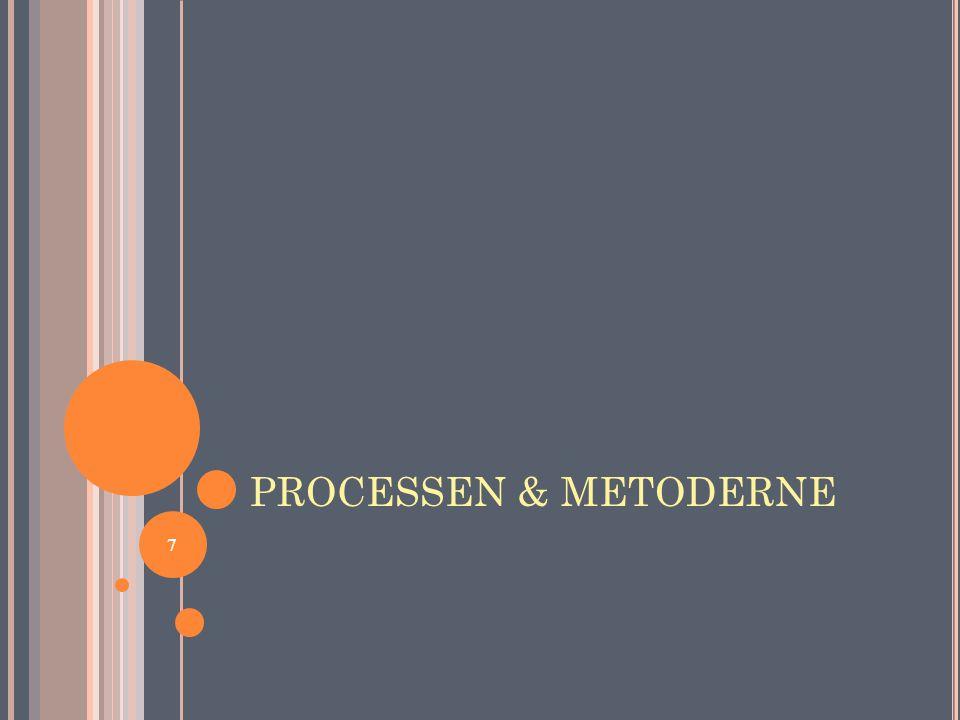7 PROCESSEN & METODERNE