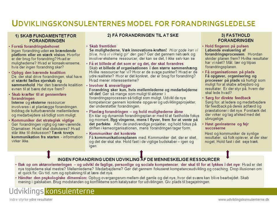 F ÆLLES TRÆK - L EDEREN SOM MENINGSSKABER Lederen, uanset niveau, er den lokale tolk .
