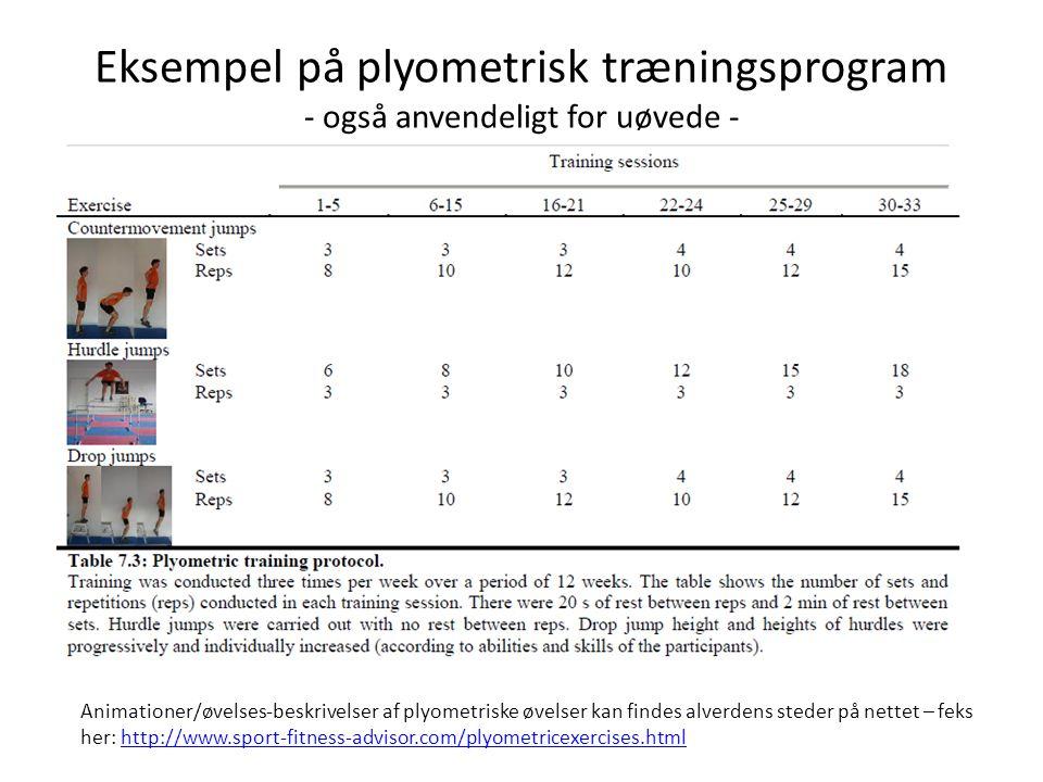 Konklussion/tilføjelser • Den evidens-baserede forskning taler klart for, at der er positiv effekt af tung og/eller plyometrisk styrketræning på løbeøkonomi og løbstid i langdistanceløb på -uanset trænings-udgangspunkt.