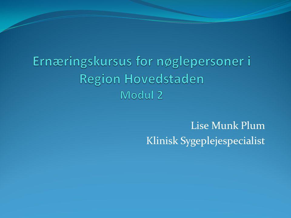 Lise Munk Plum Klinisk Sygeplejespecialist