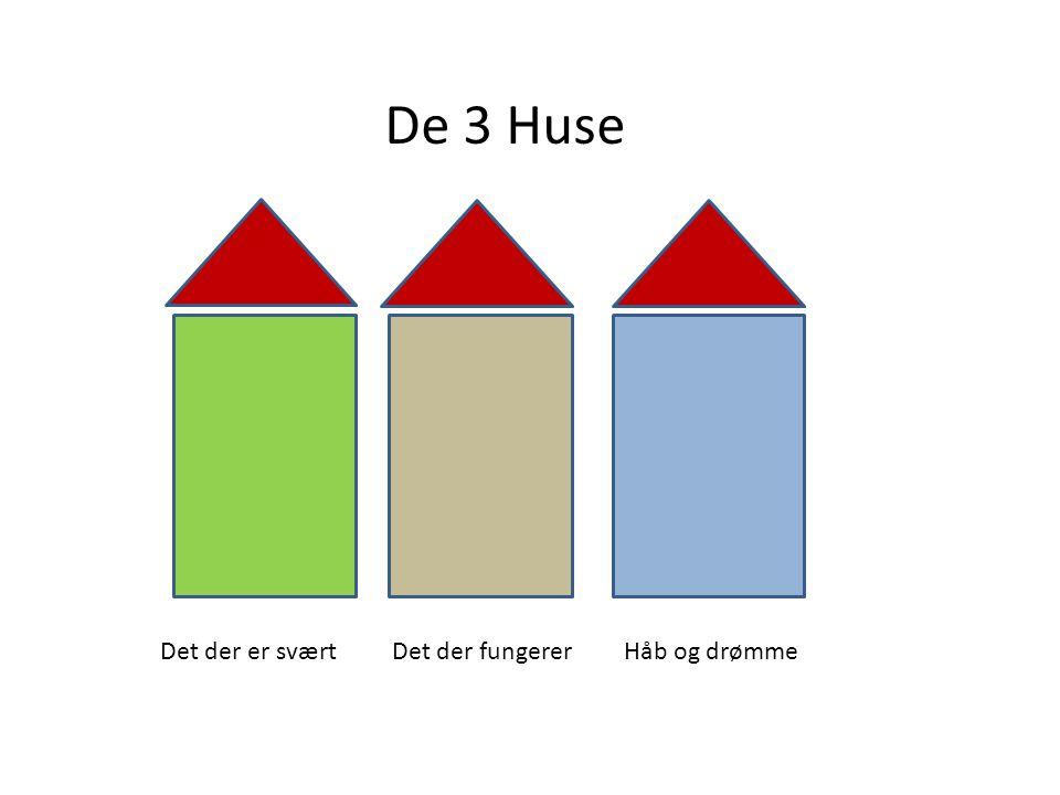 De 3 Huse Det der er sværtDet der fungererHåb og drømme