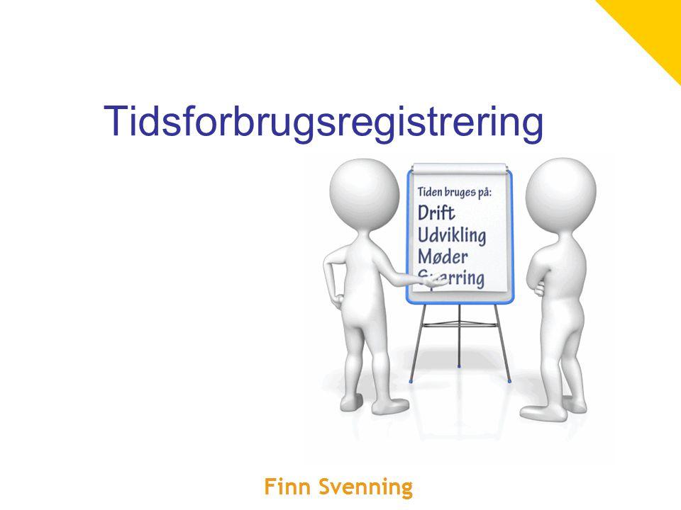 Tidsforbrugsregistrering