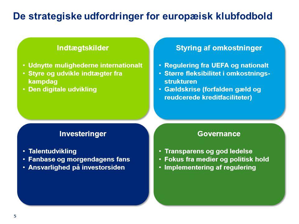 De strategiske udfordringer for europæisk klubfodbold 5