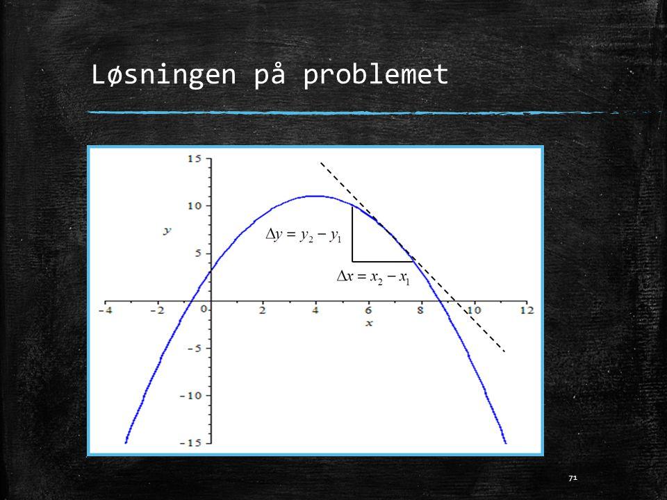 Løsningen på problemet 71