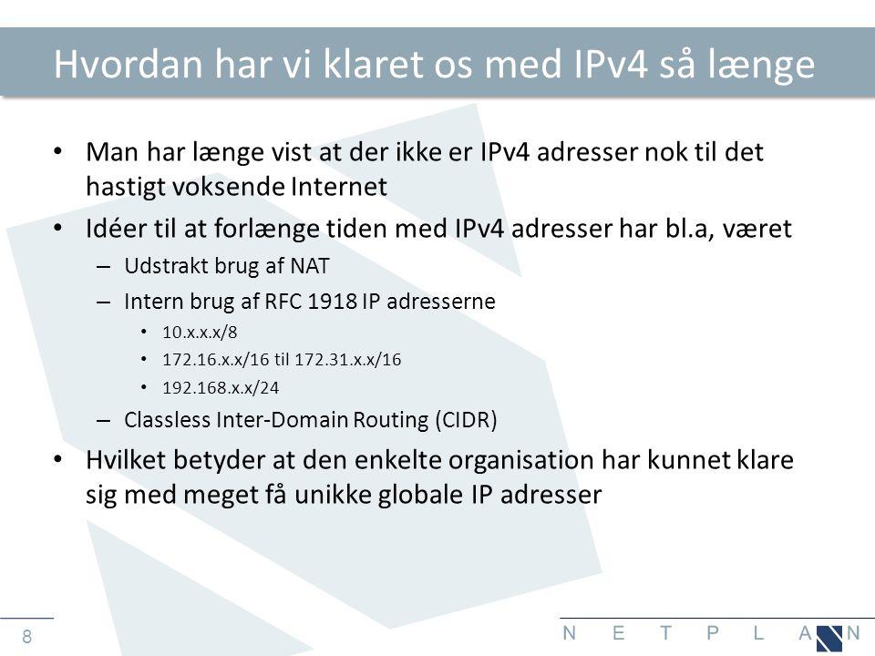 9 Hvornår skal man skifte til IPv6.