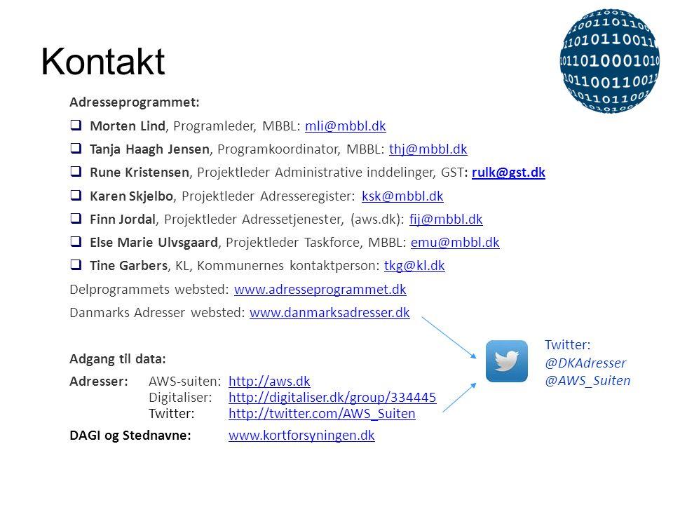 Kontakt Adresseprogrammet:  Morten Lind, Programleder, MBBL: mli@mbbl.dkmli@mbbl.dk  Tanja Haagh Jensen, Programkoordinator, MBBL: thj@mbbl.dkthj@mb