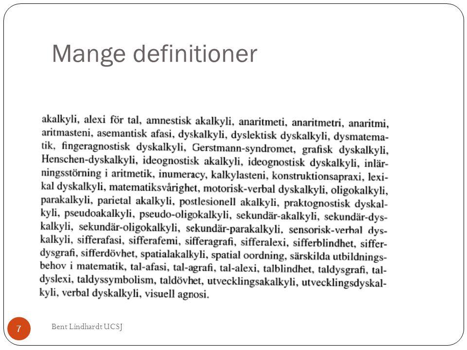 Indirekte sammenhænge mellem læsevanskeligheder og regnevanskeligheder Bent Lindhardt UCSJ 78  Der er fælles sekundære kognitive træk mellem det at læse/skrive og så det at regne - men hvad er årsag og virkning.