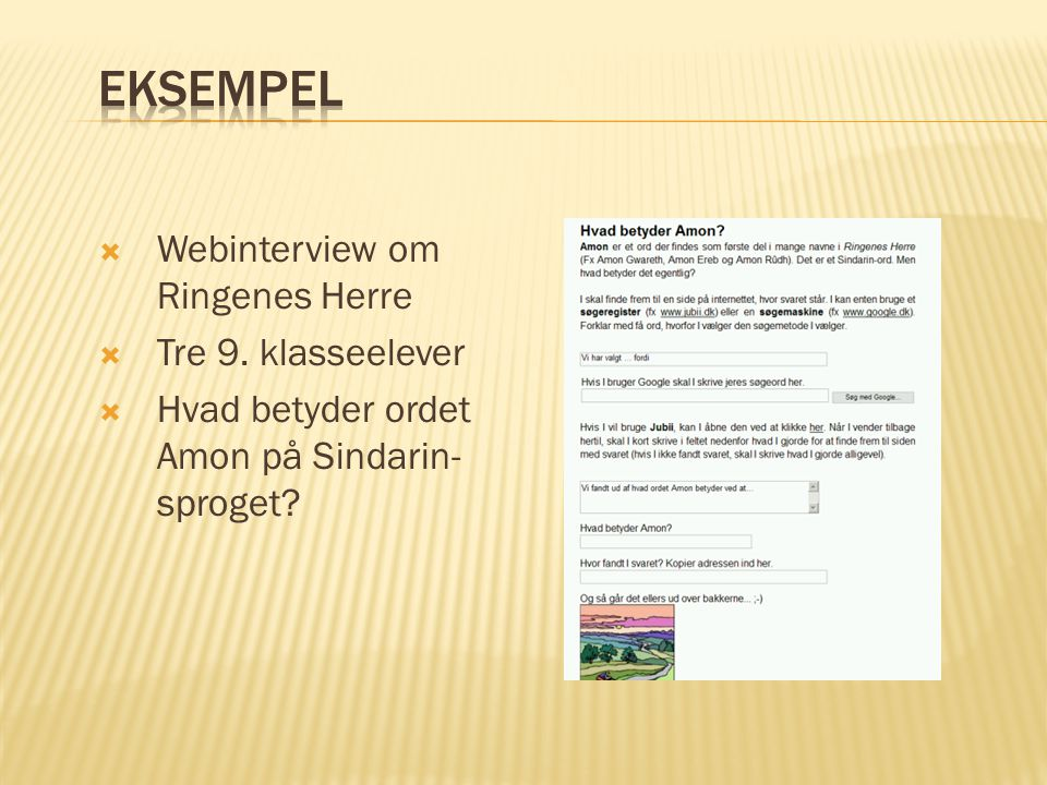  Webinterview om Ringenes Herre  Tre 9.
