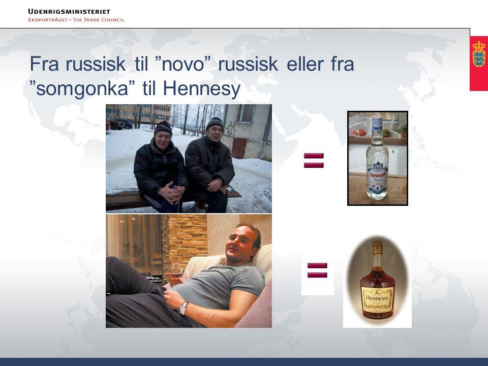 """Fra russisk til """"novo"""" russisk eller fra """"somgonka"""" til Hennesy"""