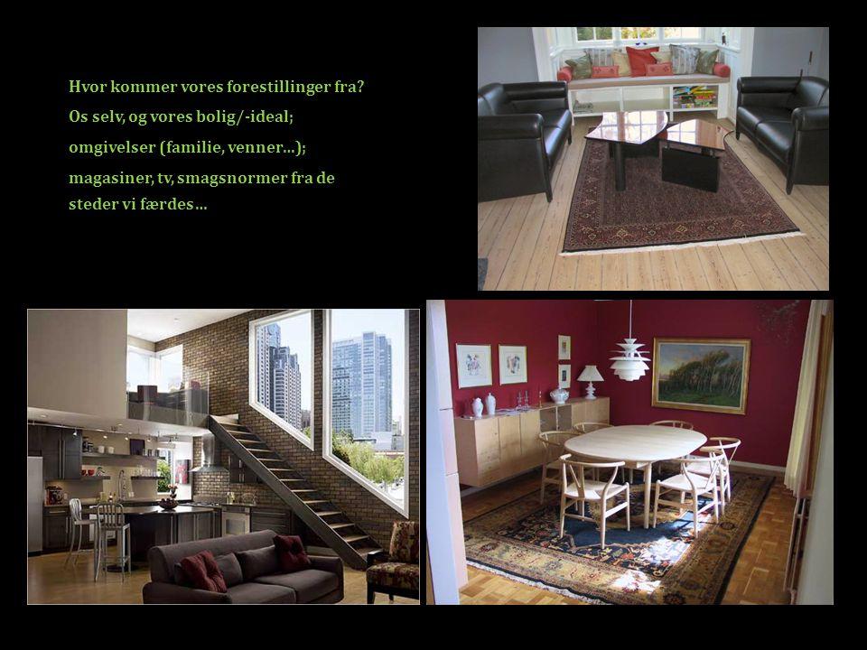 F.eks.hjemmearbejdspladsen Er det vigtigt i det moderne hjem.